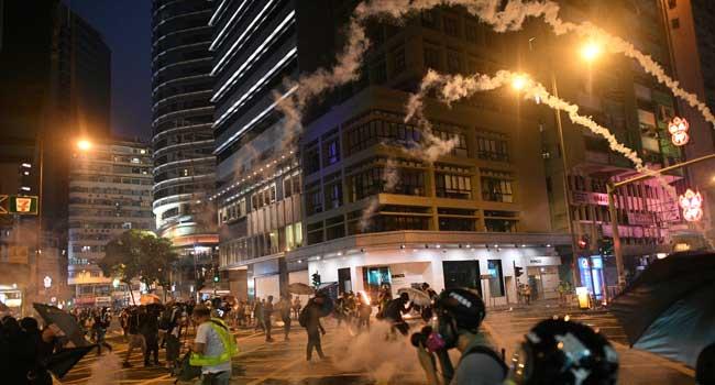 Hong Kong Protests Threaten China's 70th Anniversary
