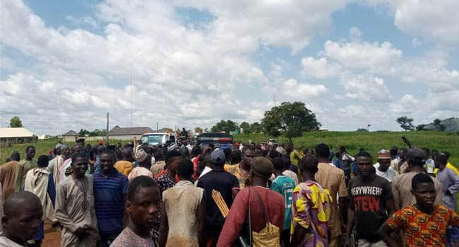 PHOTOS: IDPs Protest In Niger, Demand Security In Camps