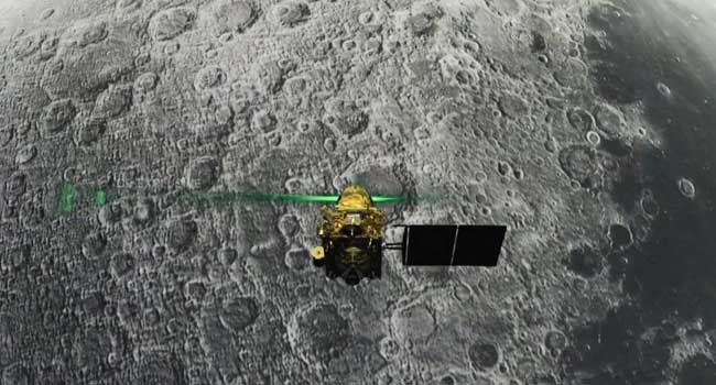 India Space Agency Loses Communication With Moon-Landing Craft