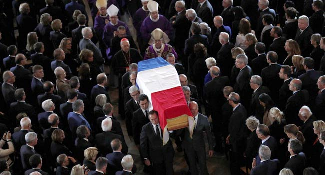 World Leaders Pay Final Tribute To Jacques Chirac