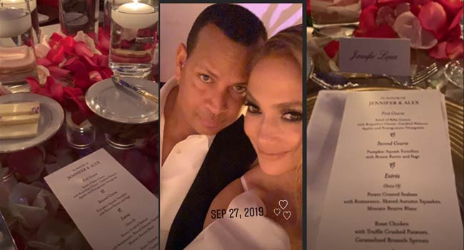 Jennifer Lopez, Alex Rodriguez Celebrate 'Beautifully Elegant' Engagement