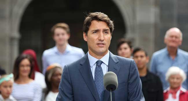 Bus Collides With Canadian PM Trudeau's Plane