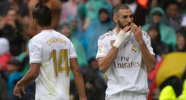 Benzema Hands Madrid Win Against Levante