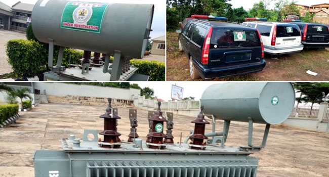Constituency Projects: ICPC Recovers Three Ambulances, 500KVA Transformer From Senator Kashamu