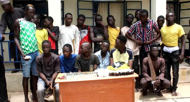 Police Arrest 18 Miscreants In Katsina