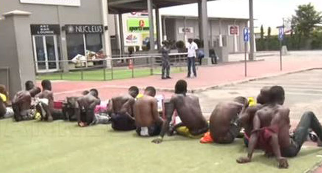 Xenophobia: Police Arrest Alleged Shoprite Looters In Lagos - CHANNELS TELEVISION