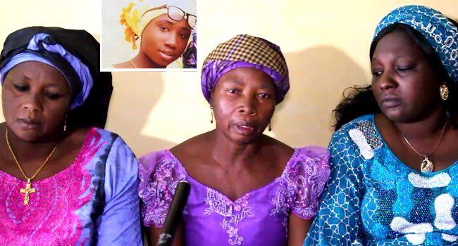 'We Have Known No Peace', Leah Sharibu's Mother, Others Call For Her Release