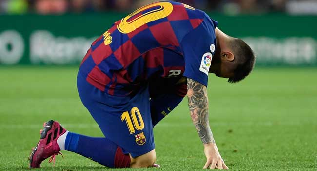 'We Made Children's Mistakes', Says Messi After Barca Stunned By Atletico
