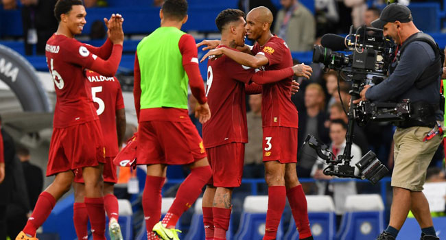 Liverpool Beat Chelsea To Extend Perfect Start