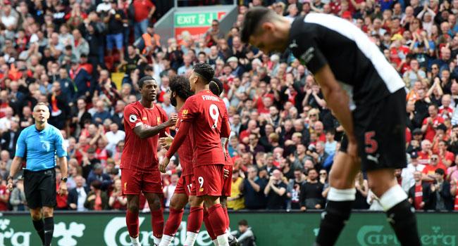 Mane, Salah Hand Liverpool 3-1 Victory Over Newcastle