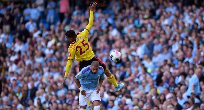 Man City Demolish Watford After Shock Defeat At Norwich