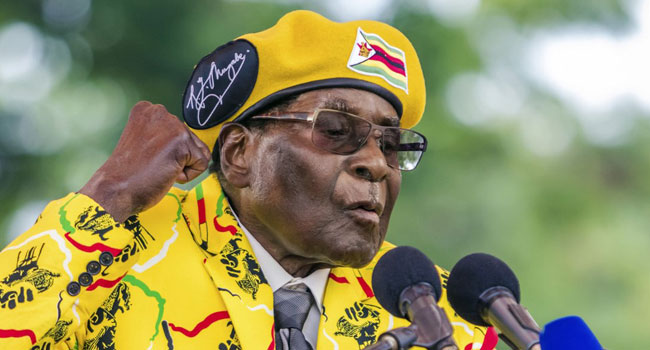 China Pays Tribute To 'Outstanding' Zimbabwe's Leader Mugabe
