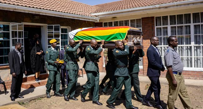 Mugabe's family announces burial in his hometown on Saturday