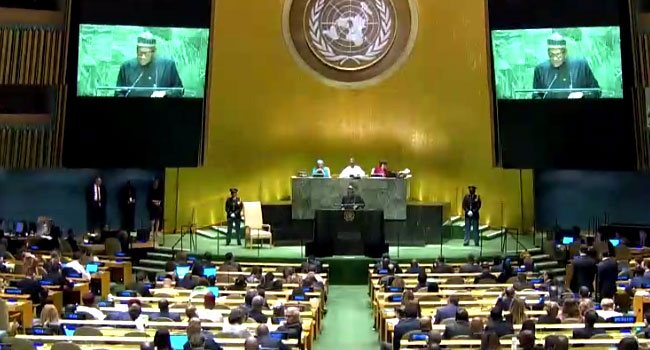 Buhari Calls For Action Against Xenophobia, Abject Poverty At UNGA (Full Speech)
