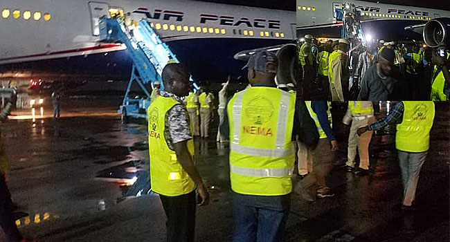 Second Batch Of Nigerians From South Africa Arrive In Lagos