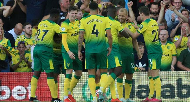 Norwich Stun Manchester City 3-2 In Premier League Clash