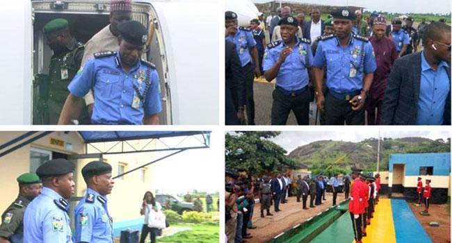 PHOTOS: IGP Mohammed Adamu Visits Ondo, Ekiti