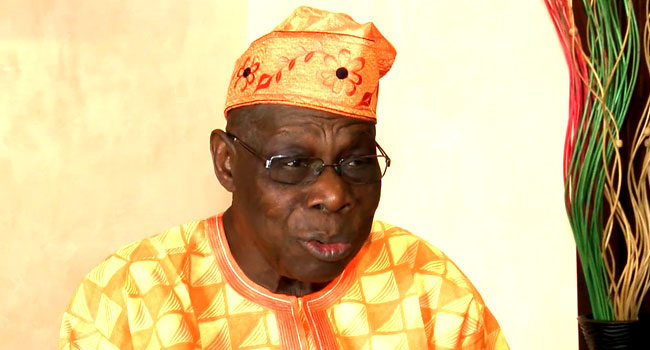 VIDEO: Nigerians In South Africa Are Not Criminals, They Are Businessmen – Obasanjo