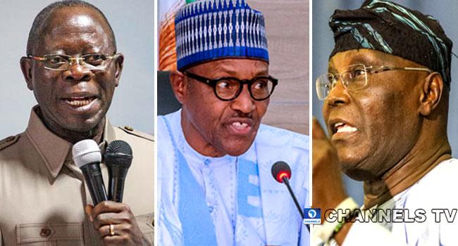 Buhari Will Defeat Atiku At 'World Court', Says Oshiomhole