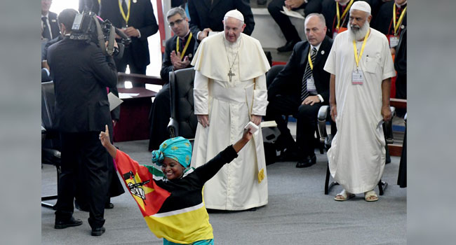 Pope Francis In Mozambique Seeks To Strengthen Peace Accord