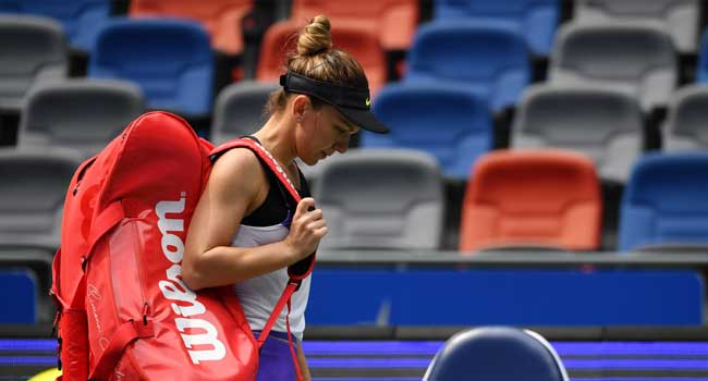 China Open: Halep Suffers Defeat To Alexandrova In Second Round