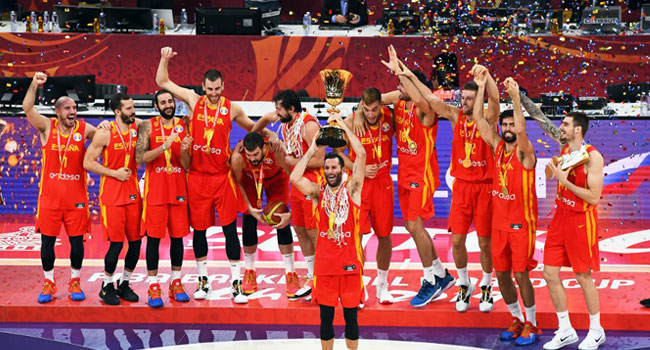 Spain Beat Argentina 95-75 To Win Basketball World Cup