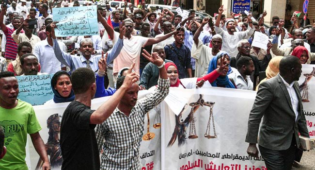 Sudan Protesters Seek Justice For Killed Comrades