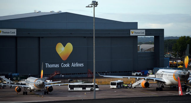 Thomas Cook Folds, Sparking Worldwide Repatriation Of Tourists