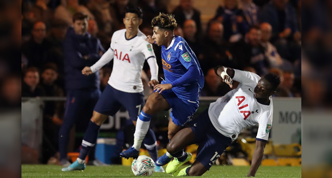 Tottenham Stunned By Fourth-Tier Colchester In League Cup