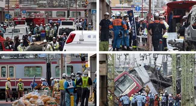 One Dead, 30 Hurt As Train, Truck Collide Near Tokyo