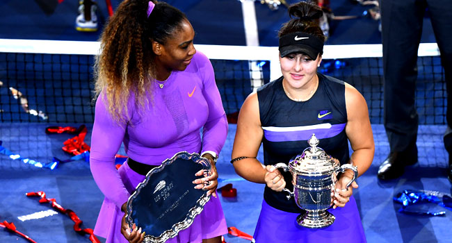 Canadian Teen Andreescu Stuns Serena In US Open Final