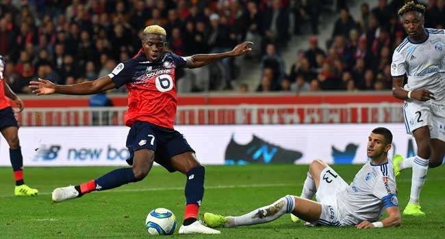 Osimhen Scores As Lille Move Third In Ligue One