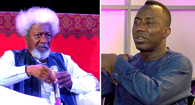 Sowore's Re-Arrest: Soyinka Condemns DSS' Action, Sends Message To Buhari