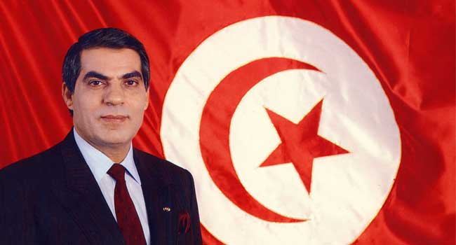 Tunisia's ex-president Ben Ali dies, says foreign ministry