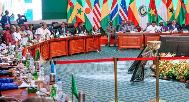 PHOTOS: Buhari Attends ECOWAS Extraordinary Summit On Counter-Terrorism In Burkina Faso