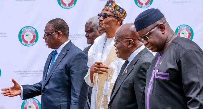 Buhari Attends ECOWAS Extraordinary Summit On Counter-Terrorism In Burkina Faso