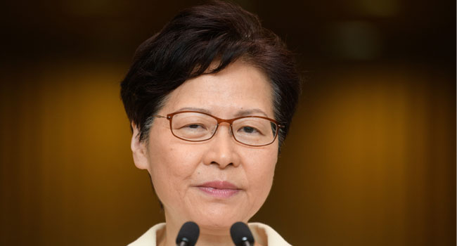 Hong Kong Leader Carrie Lam Withdraws Controversial Extradition Bill