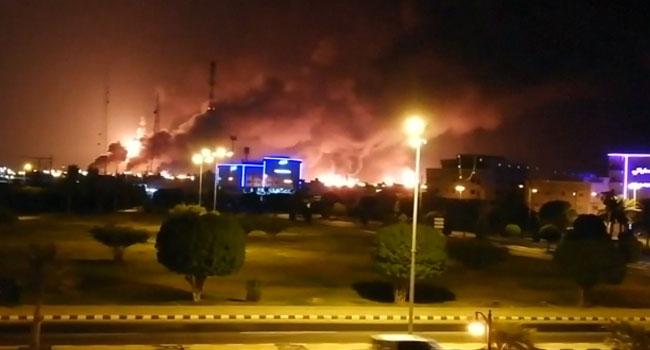 Yemeni Rebels Claim Drone Strikes On Saudi Oil Plants