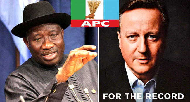 Chibok Girls: Jonathan Shouldn't Have Bothered Denying Cameron's Allegations – APC