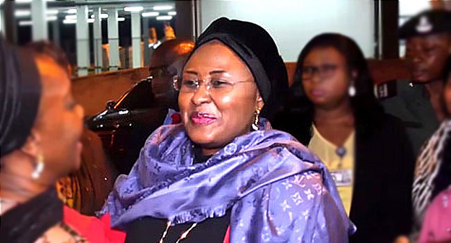 Buhari Approves Six New Aides For First Lady, Aisha