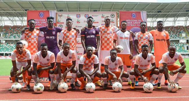 Akwa Utd Unveil Coaches, Players For 2019/2020 NPFL Season
