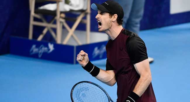 Murray Wins First ATP Title Since 2017