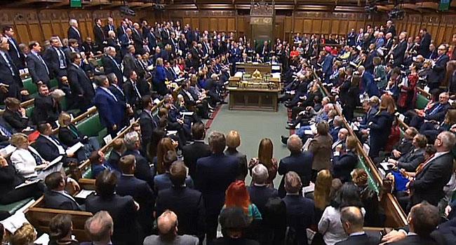 British MPs Hold Knife-Edge Vote On Boris Johnson's Brexit Deal
