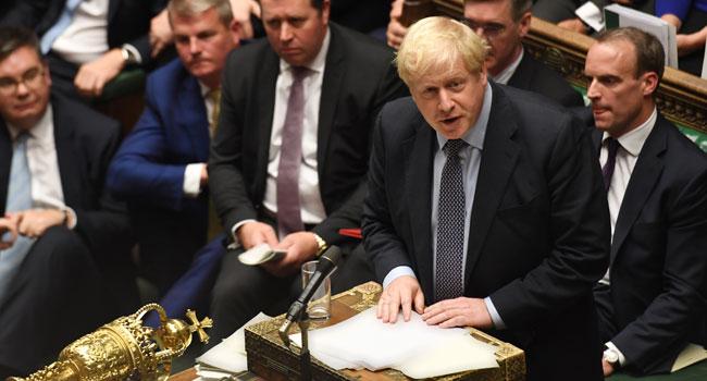 Britain's Johnson Faces Brexit Deadline