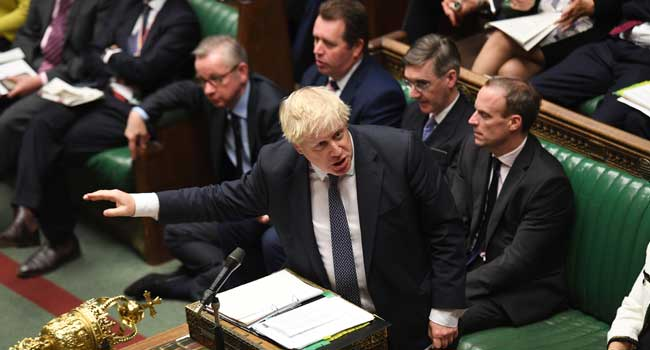 Boris Johnson Revives Push For Early Election