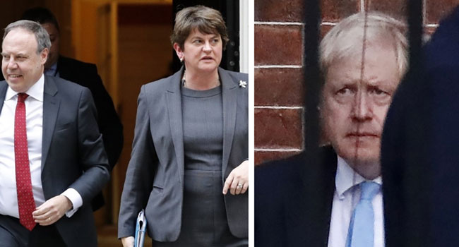 N. Ireland's DUP Says Opposition To Brexit Deal Remains