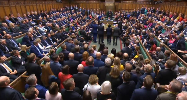 British MPs Vote To Delay Brexit Deal Decision