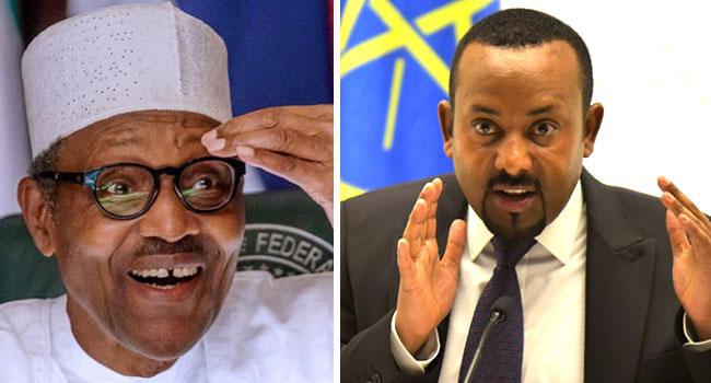 Nobel Peace Prize: Buhari Congratulates Ethiopian Prime Minister