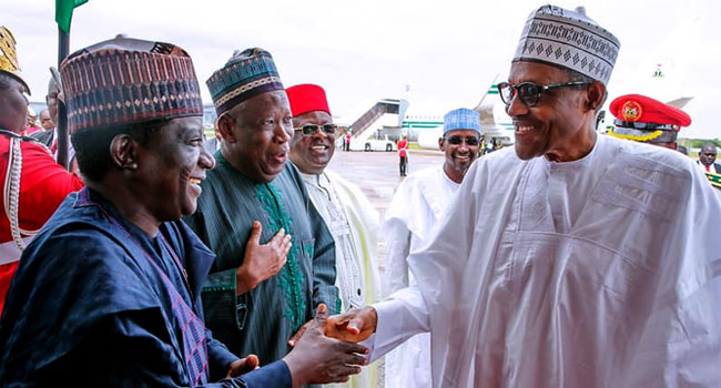 Tribunal Ruling: Buhari Congratulates Ganduje, Lalong