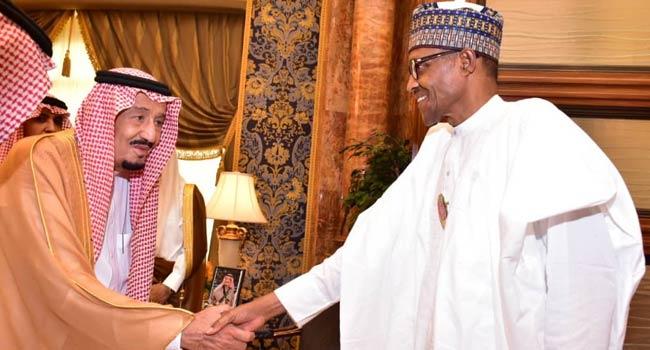 President Buhari Meets Saudi King In Riyadh
